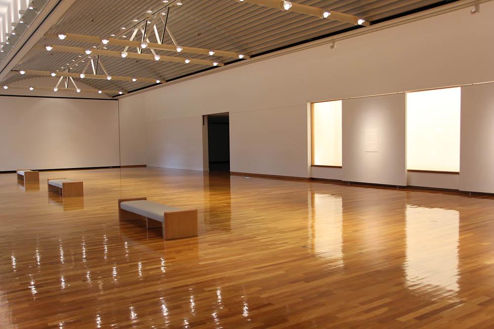 「作品のない展示室」ブース2