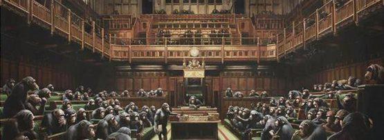 《英国の地方議会》バンクシー